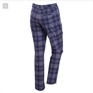 Nike Purple/White Plaid Dri-Fit Golf Pants -8